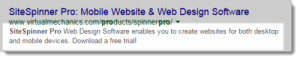 SiteSpinner Pro Mobile Website Design Software