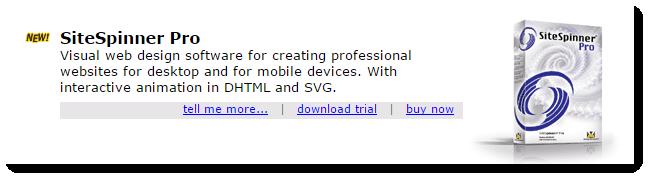 SiteSpinner Pro Website Design Software