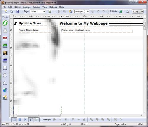 windows web design software free